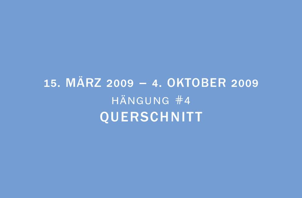 Kunstwerk - Sammlung Klein - Nussdorf - Museum - Kunst - Art - Baden-Württemberg - Hängung #4 - Querschnitt