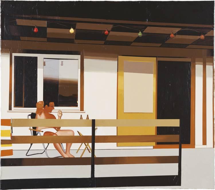 Kunstwerk - Sammlung Klein - Nussdorf - Museum - Kunst - Art - Baden-Württemberg - Franziska Holstein - ohne Titel - Datsche - 2006 - Acryl auf Leinwand