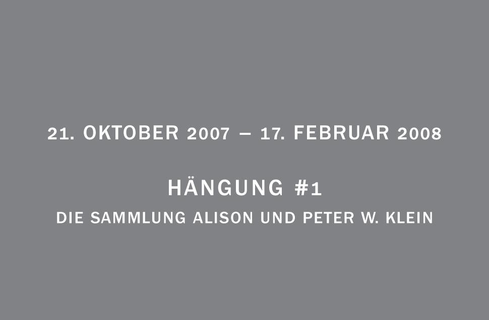 Kunstwerk - Sammlung Klein - Nussdorf - Museum - Kunst - Art - Baden-Württemberg - Hängung #1