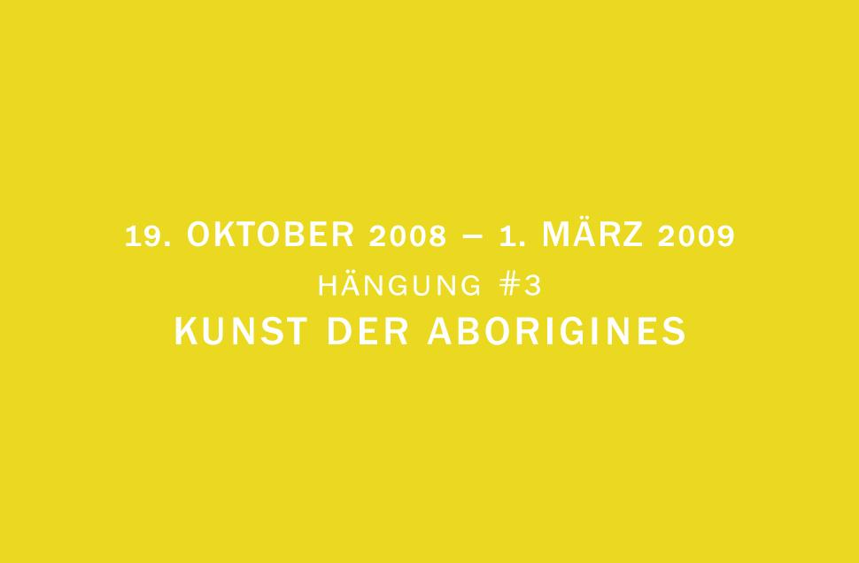 Kunstwerk - Sammlung Klein - Nussdorf - Museum - Kunst - Art - Baden-Württemberg - Hängung #3 - Kunst der Aborigines - Aboriginal Art