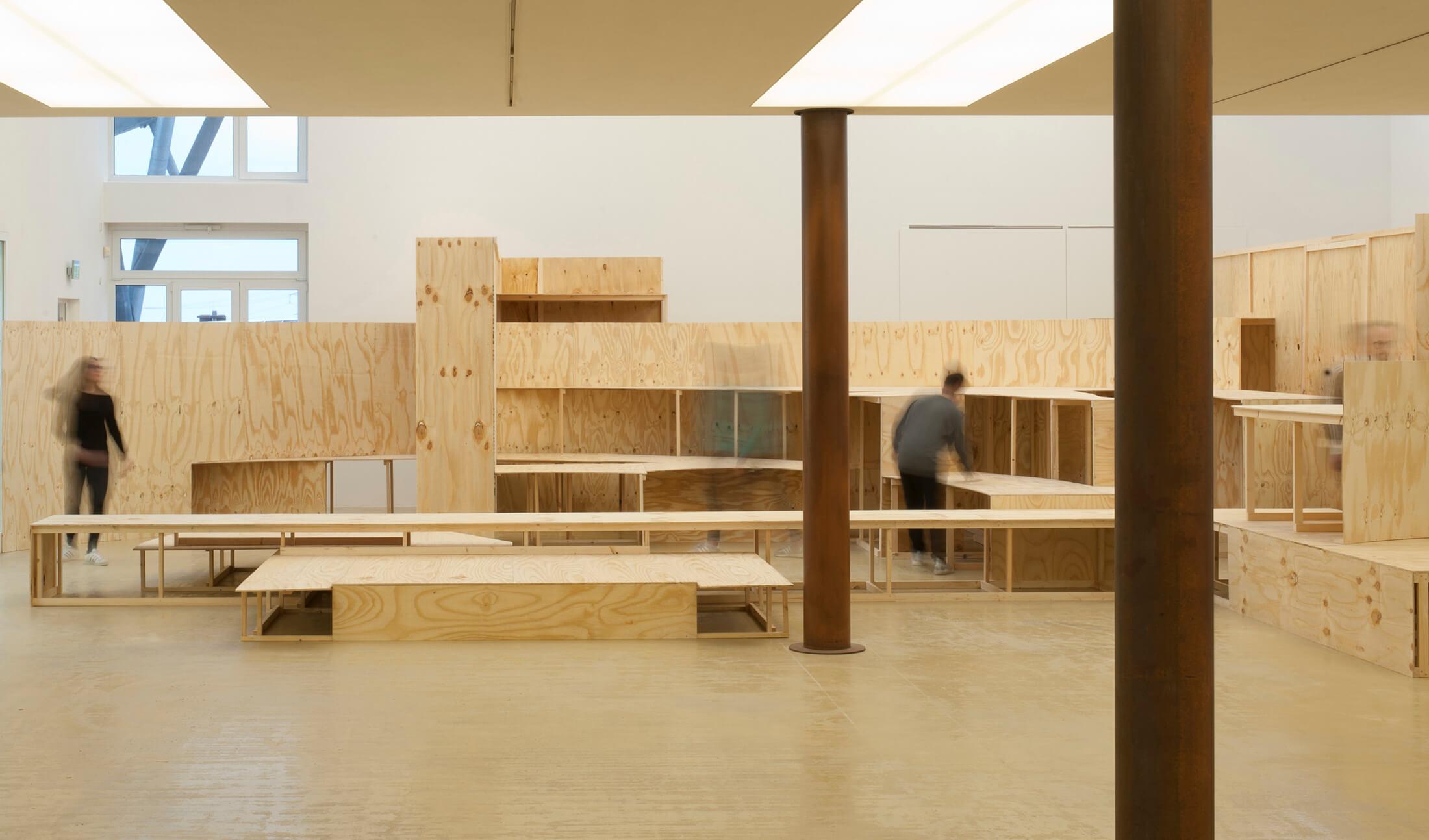Kunstwerk - Sammlung Klein - Nussdorf - Museum - Kunst - Art - Baden-Württemberg - Hängung #18 - Räumlichkeiten - Rolf Wicker – Rekonstruktionsversuch - 2018