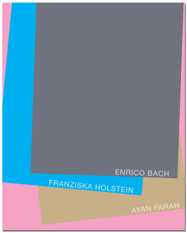 Kunstwerk - Sammlung Klein - Nussdorf - Museum - Kunst - Art - Baden-Württemberg - Hängung #19 - Enrico Bach - Franziska Holstein - Ayan Farah - Katalog - Broschüre