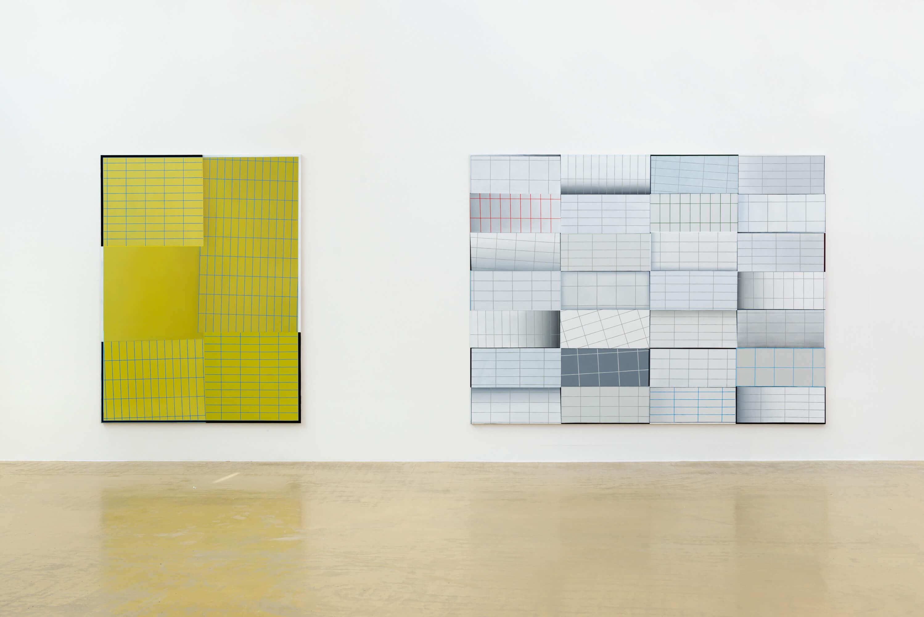 Kunstwerk - Sammlung Klein - Nussdorf - Museum - Kunst - Art - Baden-Württemberg - Hängung #19 - Enrico Bach - Franziska Holstein - Ayan Farah -Malerei - PS Serie